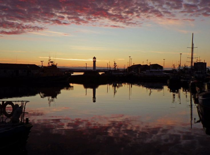 Kirkwall Harbour - Sunset