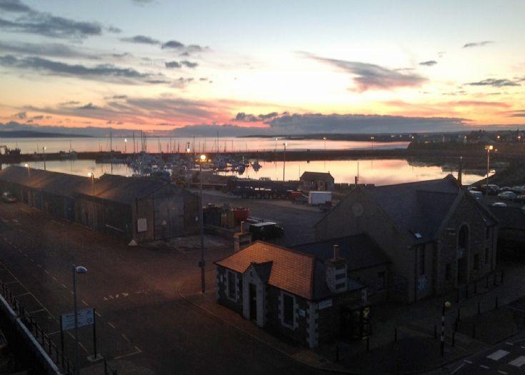 Kirkwall Harbour - Sunrise