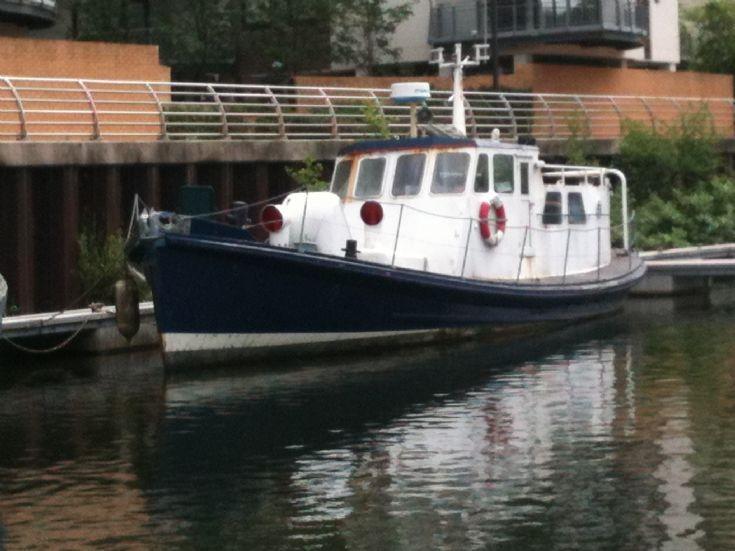Former Lifeboat Edian Courtauld