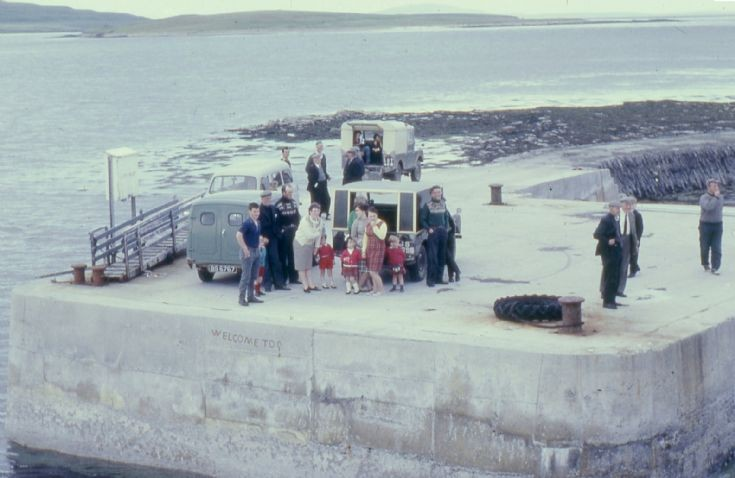 Egilsay pier 1967