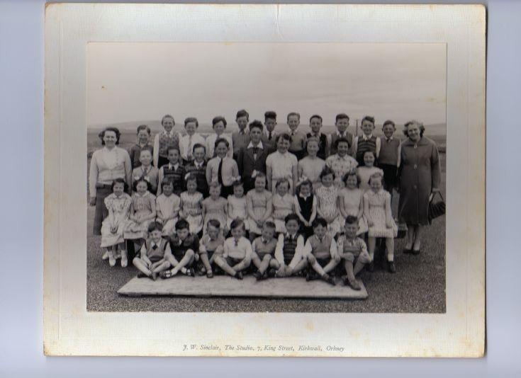Sandwick South Primary School 1960