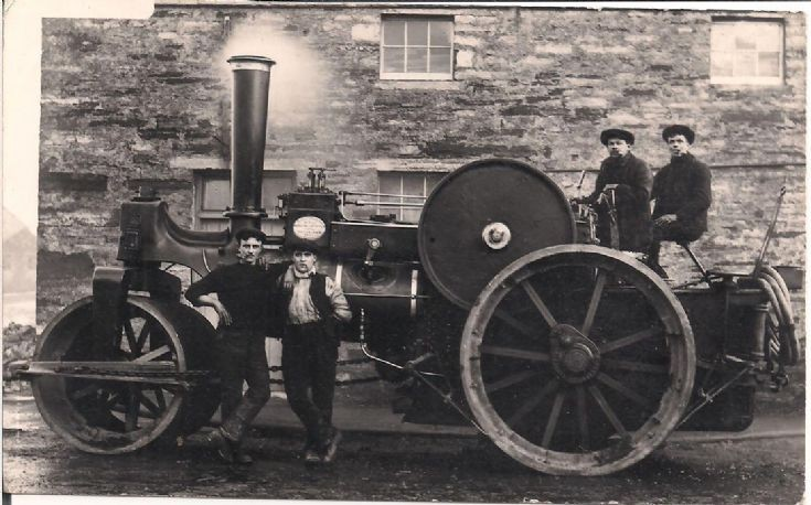 Orkney's first steamroller