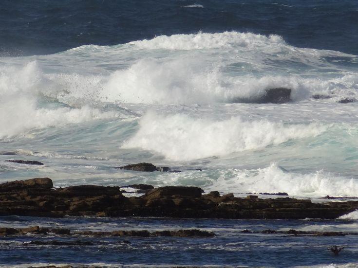 Rough seas at Brough of Birsay
