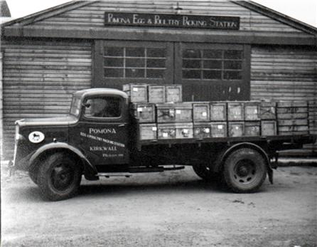 Morris Commercial used for collecting Eggs