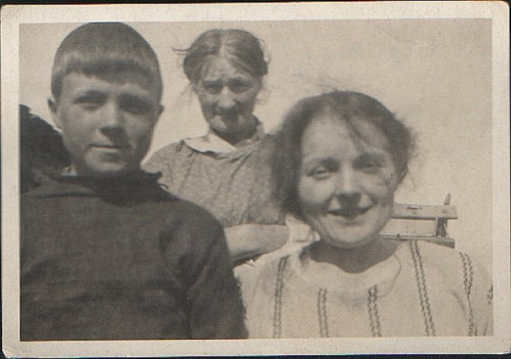 Taken at Quoybanks, Shapinsay in 1920s