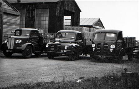 Pomona's three lorries.