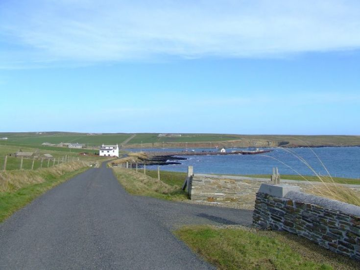 over looking Rapness Terminal, Westray