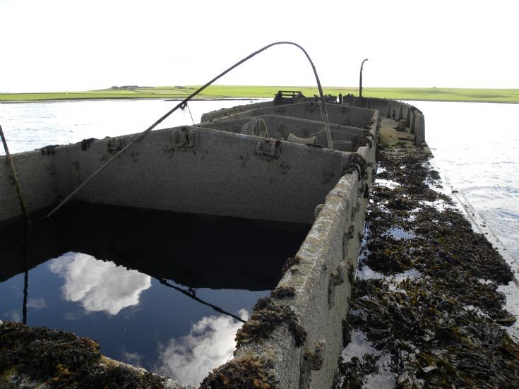 Concrete Barge - Stronsay Harbour