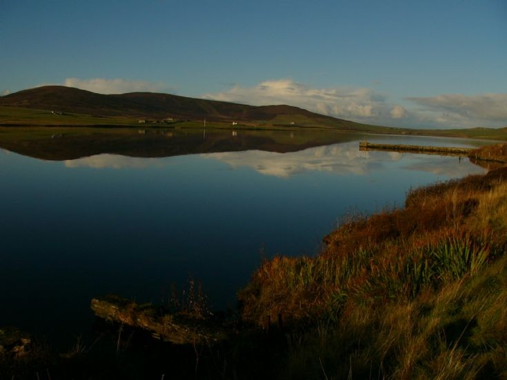 Another picture of Kirbister loch