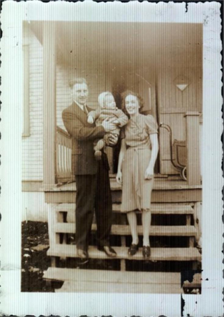 Gilbert John Spence and wife Elizabeth