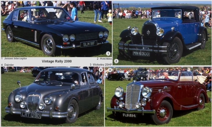 Classic cars in the sunshine