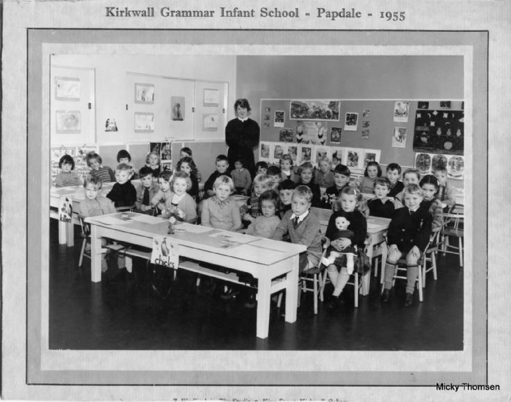Papdale Infant School 1955