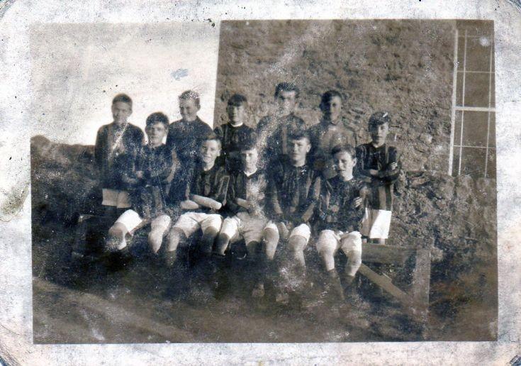 Burray boys football team