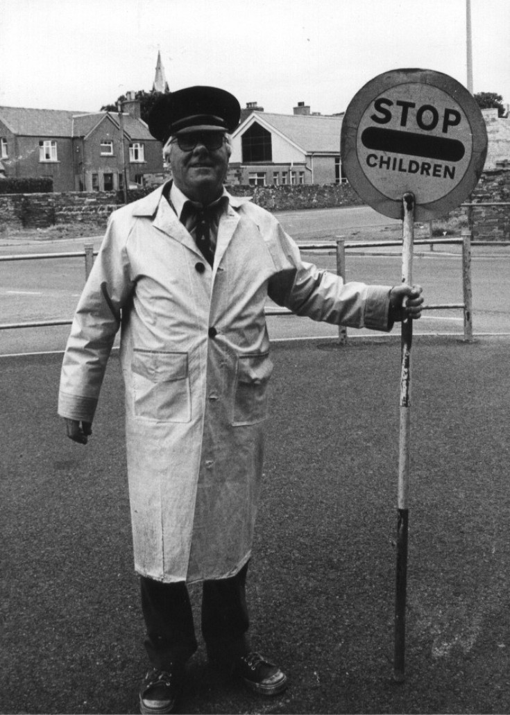 Mr Ritchie, lollipop man