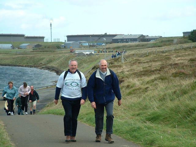 JDRF Sponsored 10K Walk in Flotta