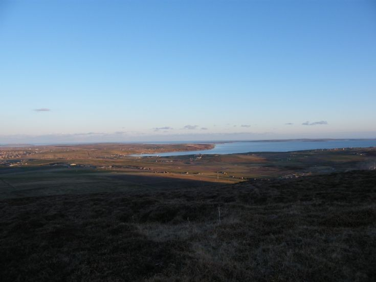 Scapa from Wideford Hill
