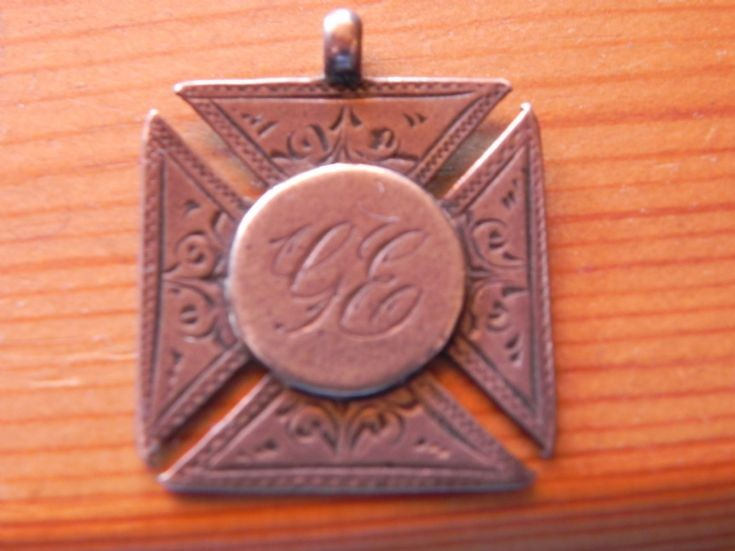 St Ninian's SS medallion