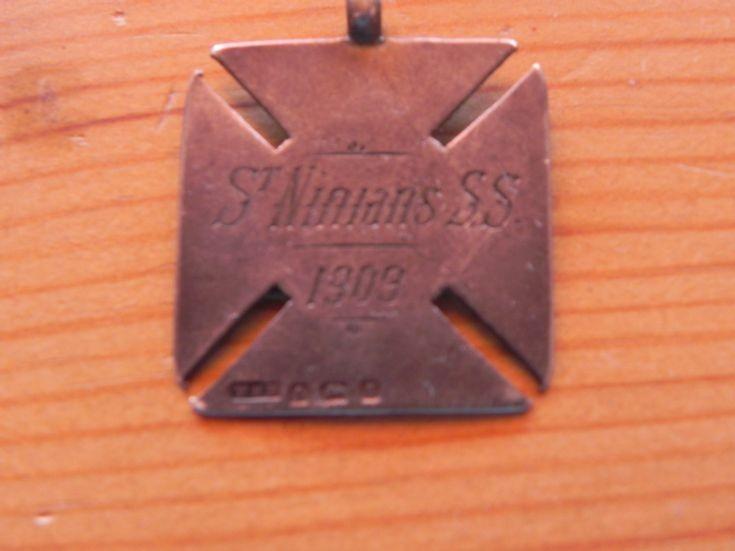 St Ninians SS medallion