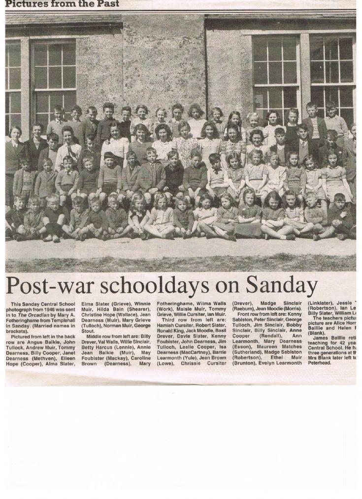 Sanday Central School