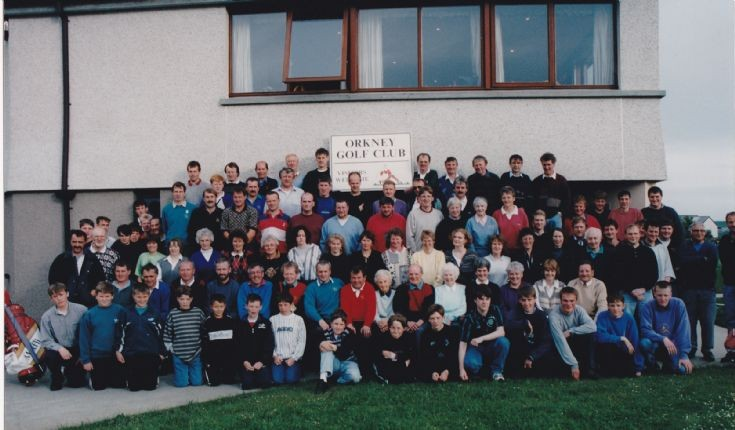 Orkney Golf Club Members 1996
