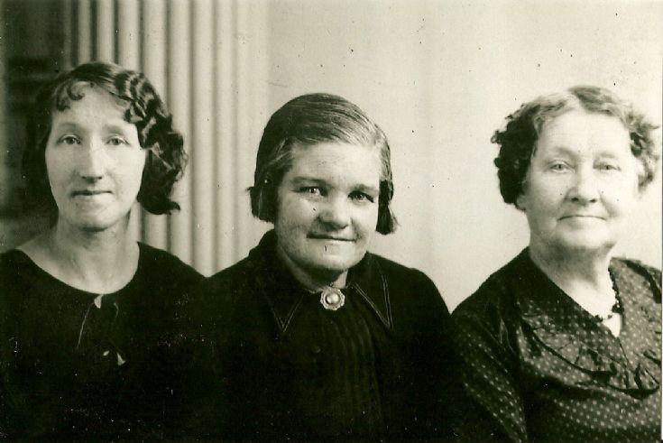 Stronsay ladies