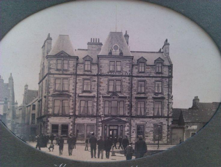 The Kirkwall Hotel 1913/14