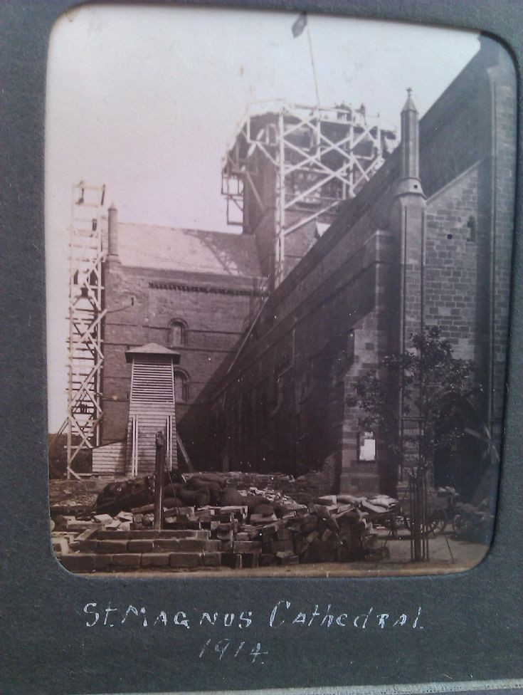 Repairs to the Cathedral, 1914