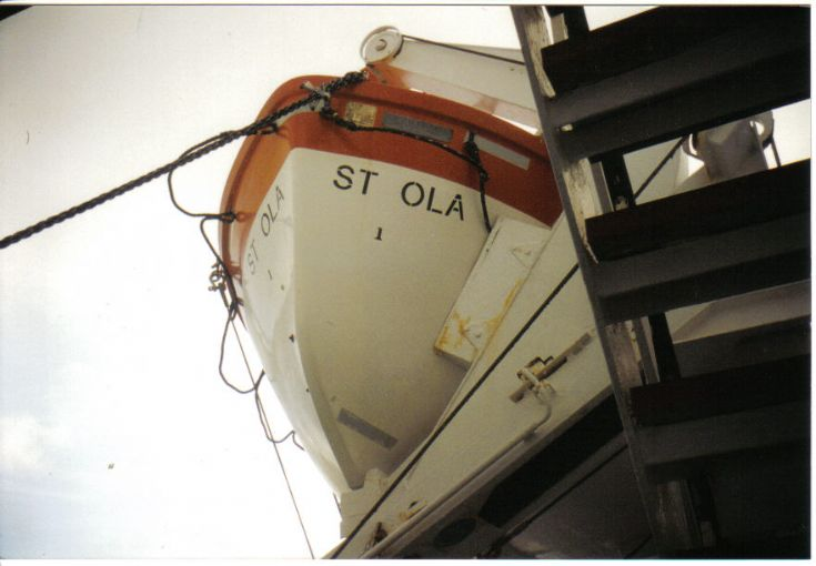 Lifeboat on the St. Ola