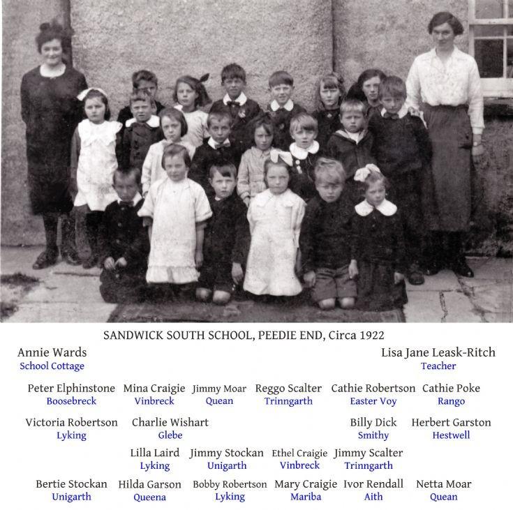 Sandwick South School, Peedie End