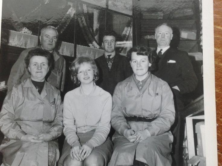 George Rendall Staff c1960