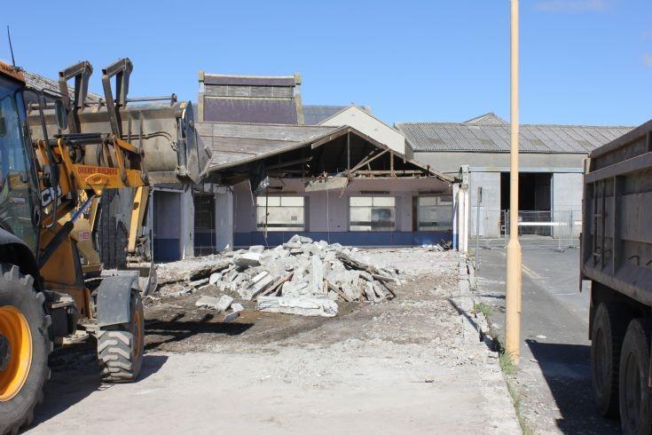 Demolition of Scarthcentre