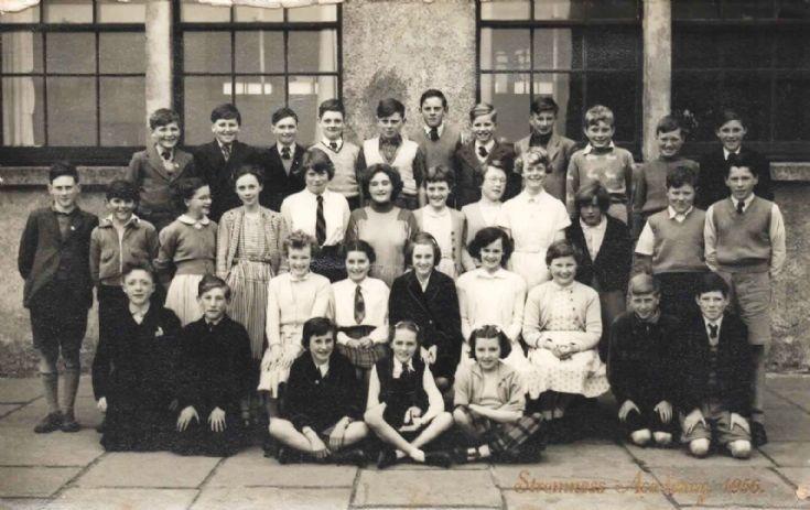 Stromness Academy 1956 primary 7