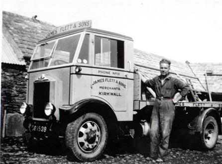 Flett & Sons Lorry