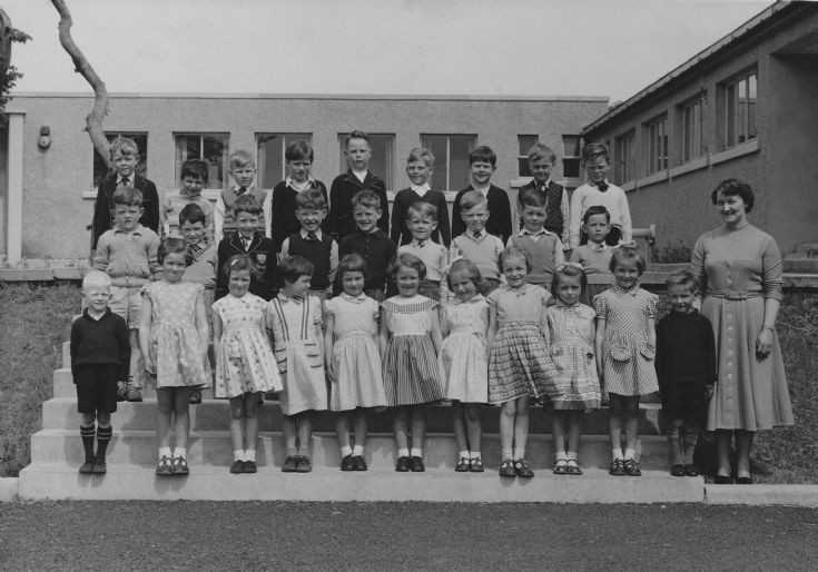 Papdale Primary Class 2 in June 1959