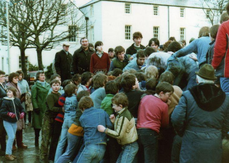 Boy's Ba' Christmas Day 1982