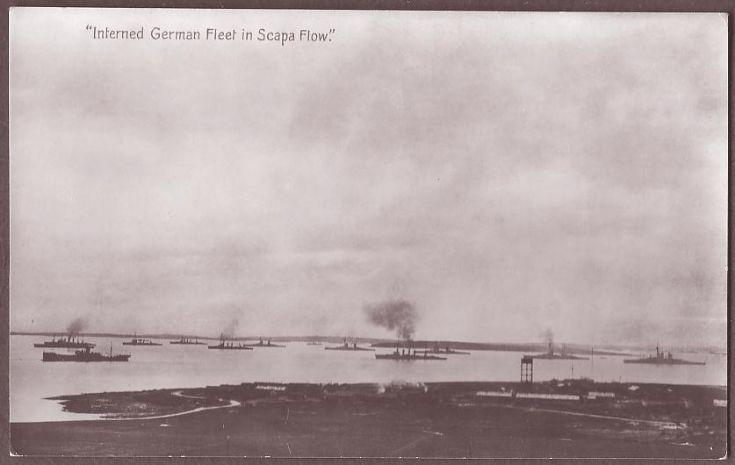 German Fleet in Scapa Flow