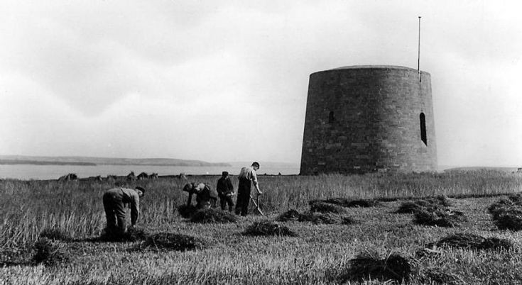 Hackness Martello Tower at South Walls