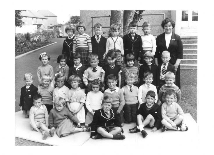 Kirkwall Infants School P1, 1960