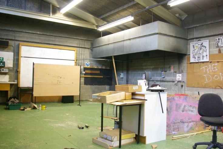 Metal work classroom