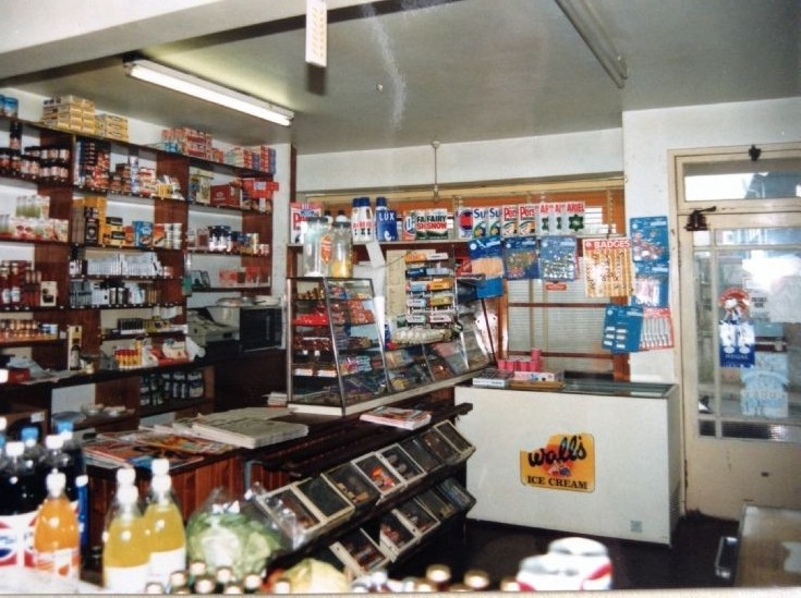 Harry and Jean's shop on Manse Road