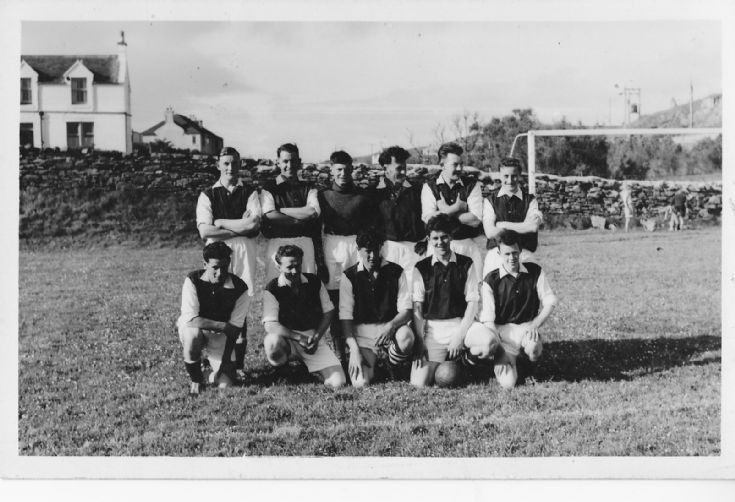 Stromness Athletic at Fraser Park, Scalloway