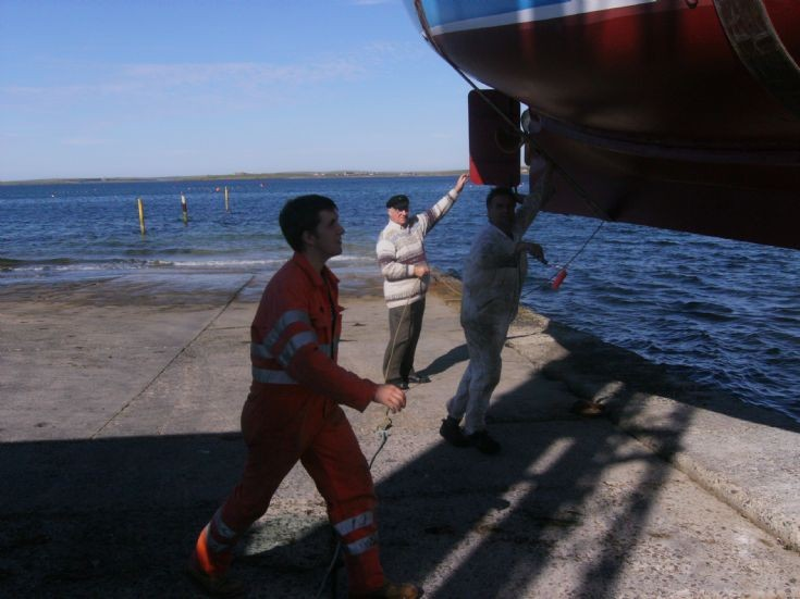 Launching of the Kestrel