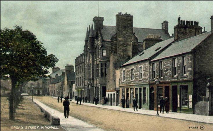 Broad Street, Kirkwall