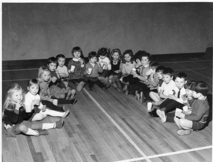Kirkwall Playgroup c.1969