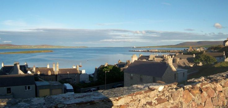 Stromness from Whitehouse