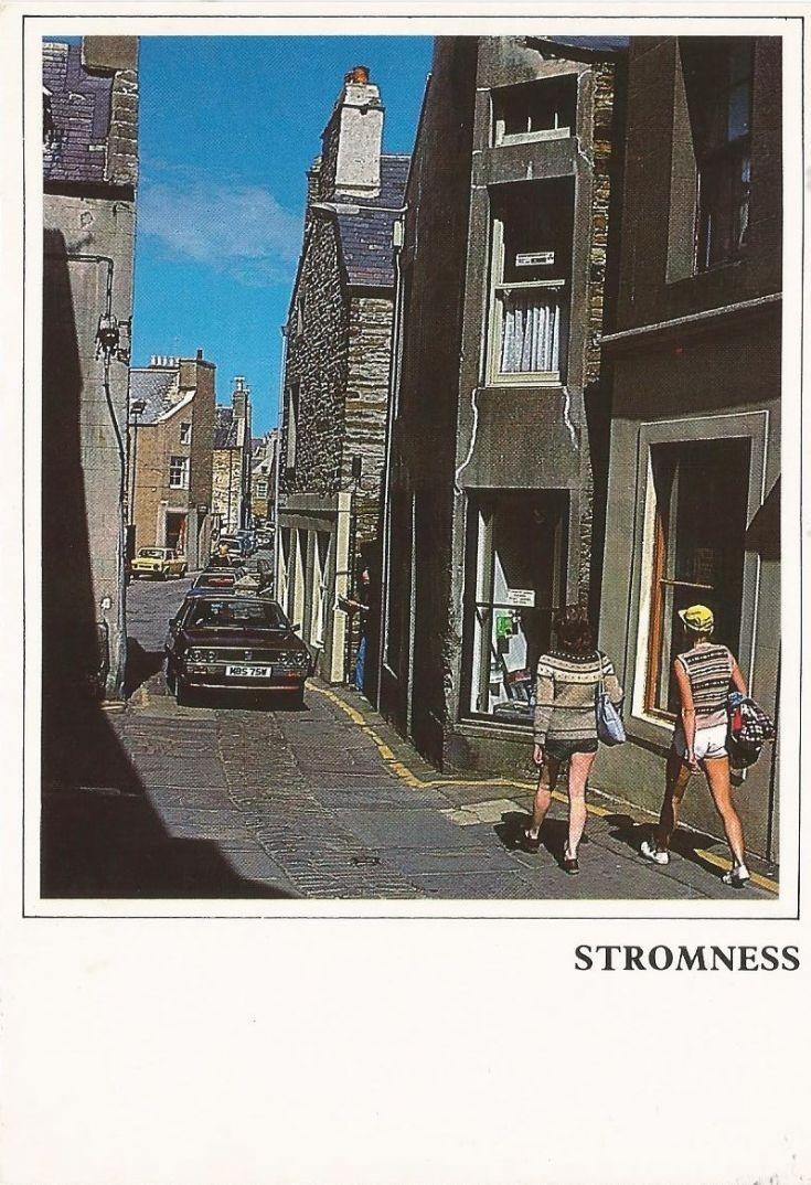 Stromness postcard