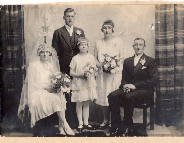 Wedding of Peter Work and Maggie Bews