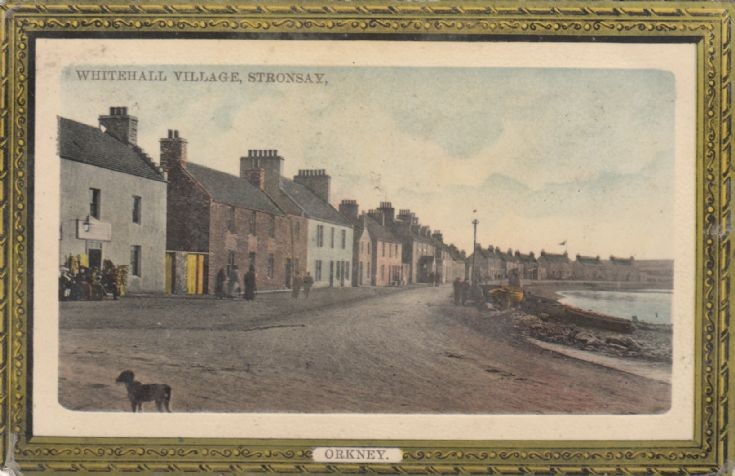 Postcard of Whitehall Village