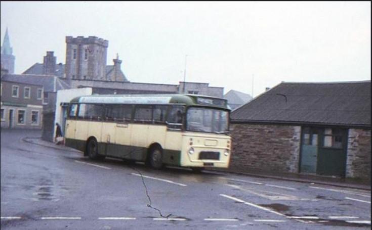Ex Aberdeen bus in Kirkwall
