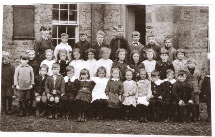 Burray school photo, around 1922